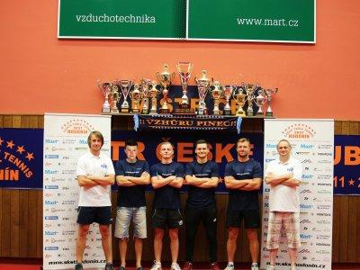 Muži podlehli v extralize mistrovskému TTC Ostrava 1:4 na zápasy