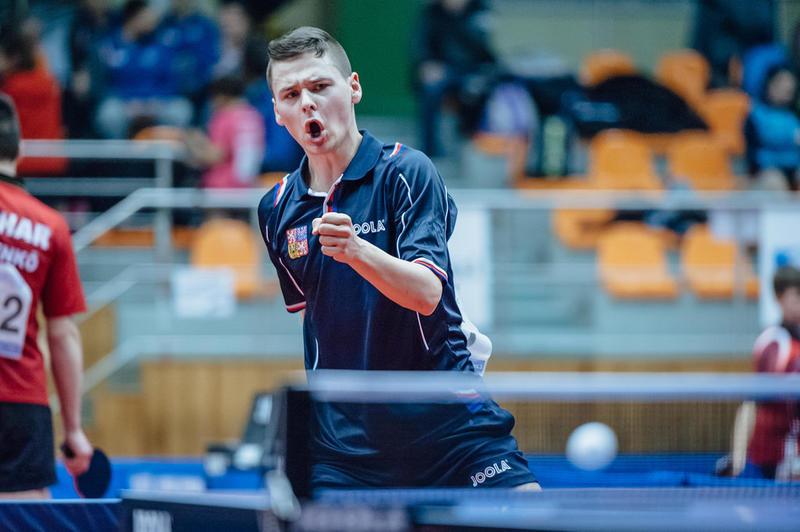 Áčko mužů získalo první bod za prohru 3:4 s obhájcem titulu TTC Ostrava 2016
