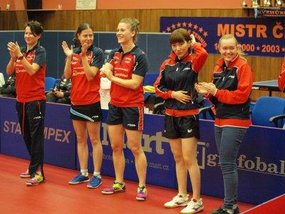 Hodonínské ženy vyhrály základní část extraligy bez ztráty bodu!