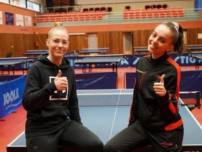 Linda Záděrová a Anna Klempererová ovládly kontrolní turnaj