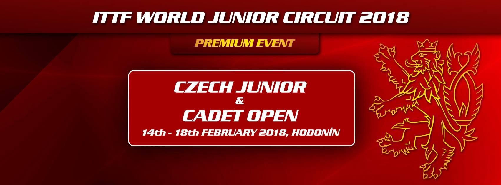 Turnaj Czech Junior & Cadet open opět v Hodoníně!!!