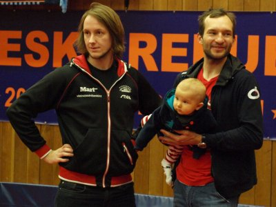 Jaroslav Mikeska jako trenér na ITTF Hopes Week and Challenge