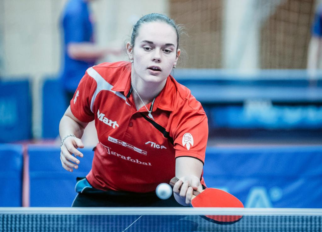 Anežka Ilčíková druhá na prvních bodovacích turnajích mládeže v novém roce