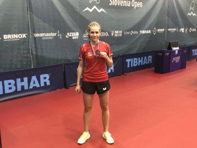 Linda Záděrová přivezla dvě medaile ze Slovenia Junior & Cadet open